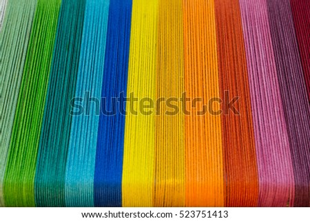 Multicolored fabrics #523751413