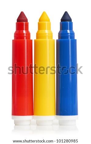 Multicolored Felt-Tip Pens