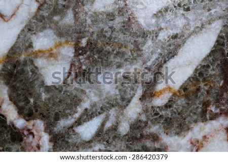 Multicolored marble in natural pattern,The mix of colors in the form of natural marble