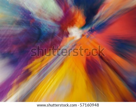 multicolored motion abstraction