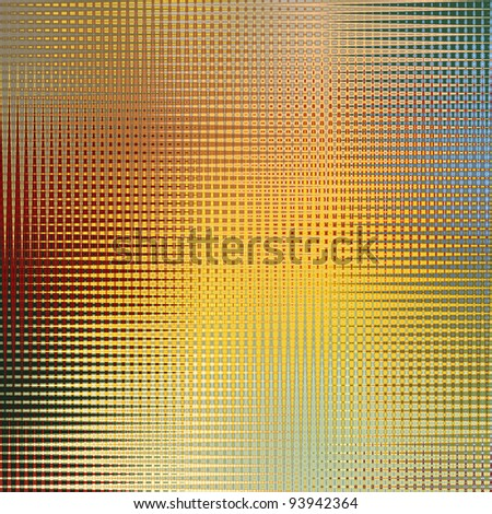 Multicolored pattern background