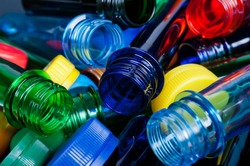 multicolored pet preforms for plastic bottles