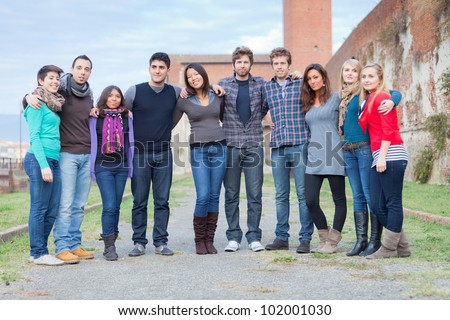 Multicultural Group of People
