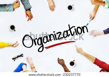 Multiethnic People Discussing About Organization