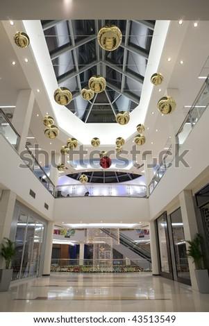 multilevel shopping center