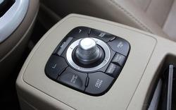 Multimedia system control joystick. Multimedia Center Switch Navigation Control Panel.