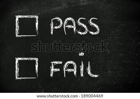 I fail at multiple choice?
