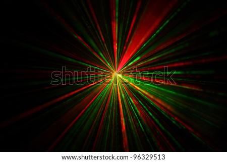 multiple colors lights beam