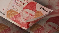 Multiple Hundred (100) Rupees Pakistani currency bank notes - PKR
