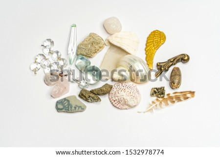 Multiple objects found at the beach