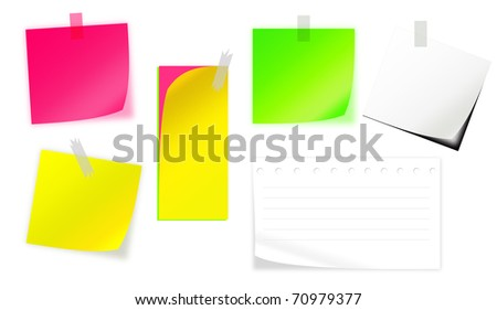 Multiple style Short Note Paper