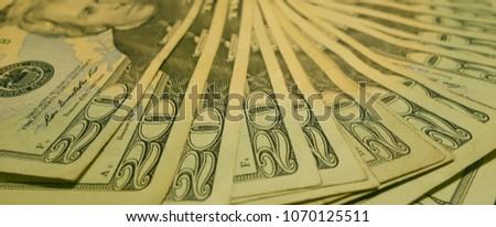 multiple twenty dollar American bills #1070125511