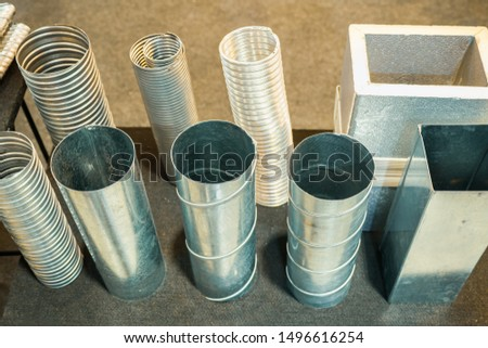 Multipurpose aluminum pipe Aluminum tubes can be used in a variety of applications. Permanent and emergency use. Ventilate, heat, steam. This product can be expanded to two times the resistance.