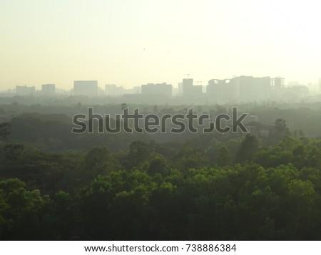 Mumbai skyline #738886384