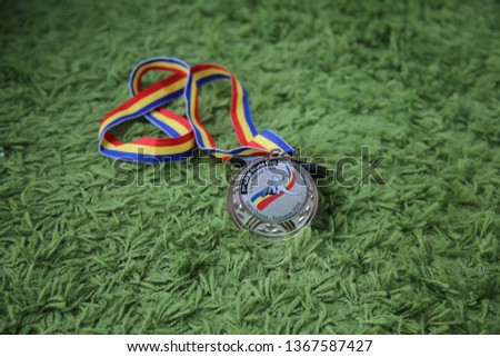 Munich, Germany - 27.02.2018 : world cup medals #1367587427