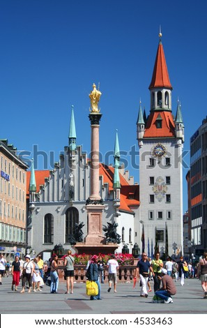 Munich Town Square, Germany