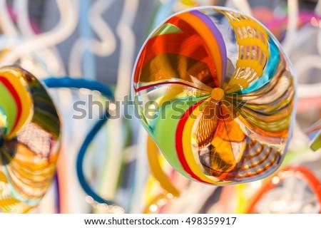 Murano glass, artwork. Venice, Italy