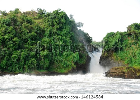 Murchison Falls on the Victoria Nile, northern Uganda