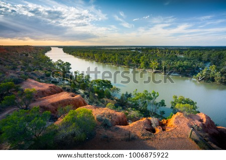 Murray River, South Australia #1006875922