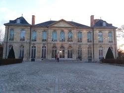 Musée Rodin front in paris