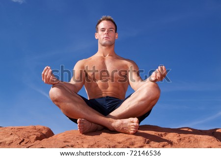 funny meditation picture
