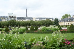 Musee Rodin Gardens in Paris, France