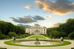 Musee Rodin Rodin Museum Paris France.