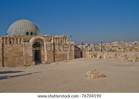 Museum at Citadel in Amman, Jordan, Amman