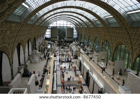 Museum D'Orsay, Paris