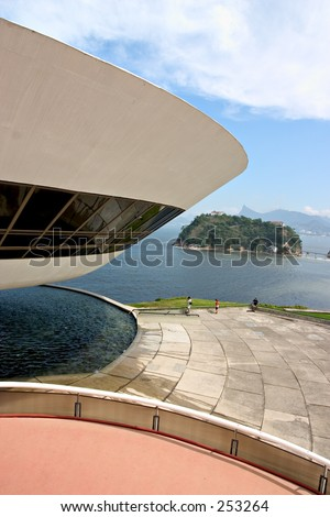 Museum of Contemporary Art, designed by Oscar Niemeyer