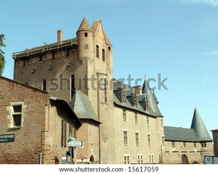 Museum of the famous painter Toulouse-Lautrec - Albi - Region of the Tarn - France