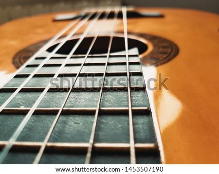 Music, acoustic guitar, spanish guitar. Classic Guitar