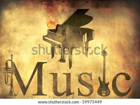 music background for poster design