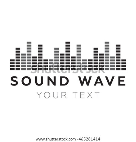 Music beat. Abstract equalizer. Sound Wave