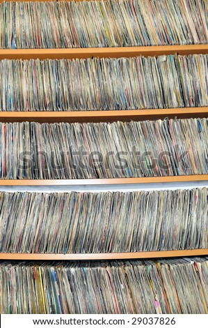 music cd dvd and plates collection library archive
