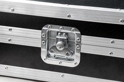 Music Equipment Carrying, Flight Case Latch Close Up