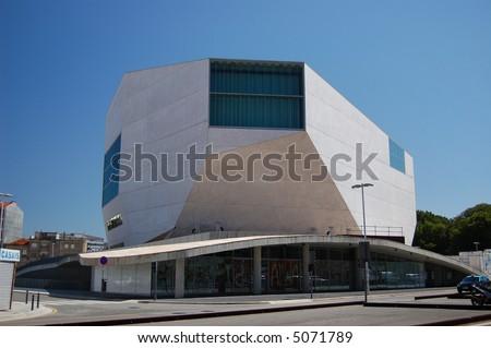 Music House in Porto, Portugal (Casa da musica)