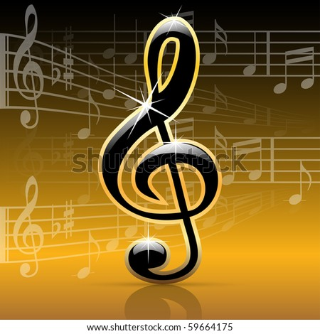 Music notes-Melody