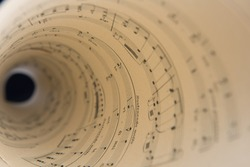 Music score pages