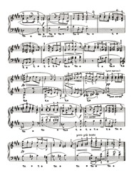 Music sheet page - art background