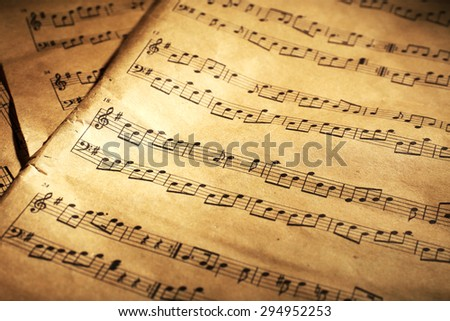 Music sheets background #294952253