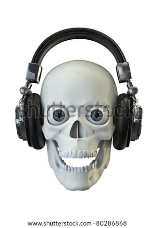 Music to wake the dead - stock photo