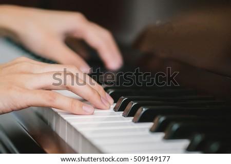Musicain Playing piano #509149177