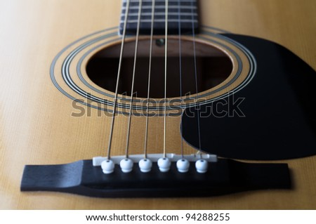 musical background image of guitar