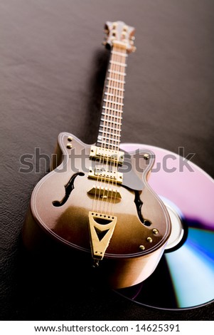 Musical instrument - classic guitar and other objects