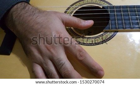 musical instrument classical guitar background