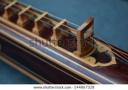 Musical instrument which is stringed instruments of ancient Thailand