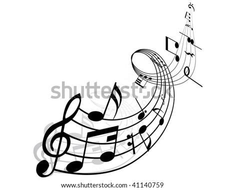 musical notes wallpaper. musical notes wallpaper. music