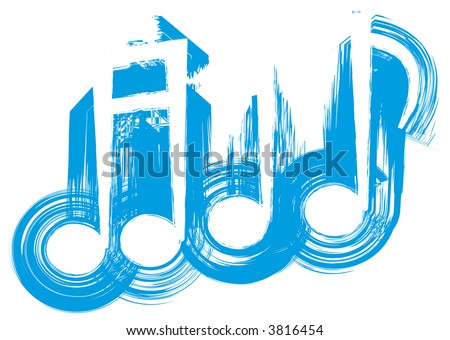 images of music notes symbols. stock photo : Musical Notes.