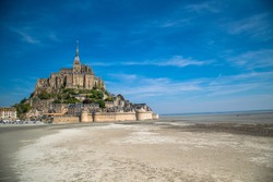 Must see beautiful cathedral in Mont St Michele in France